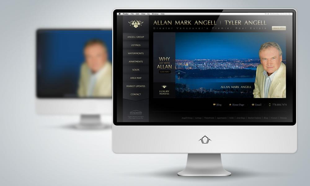 Web Design - Allan Mark Angell and Tyler Angell