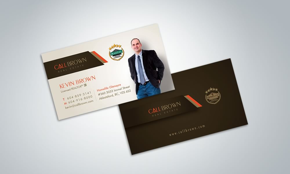 Branding and Graphic Design - Call Brown