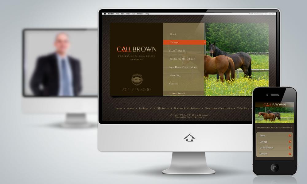 Web Design - Call Brown