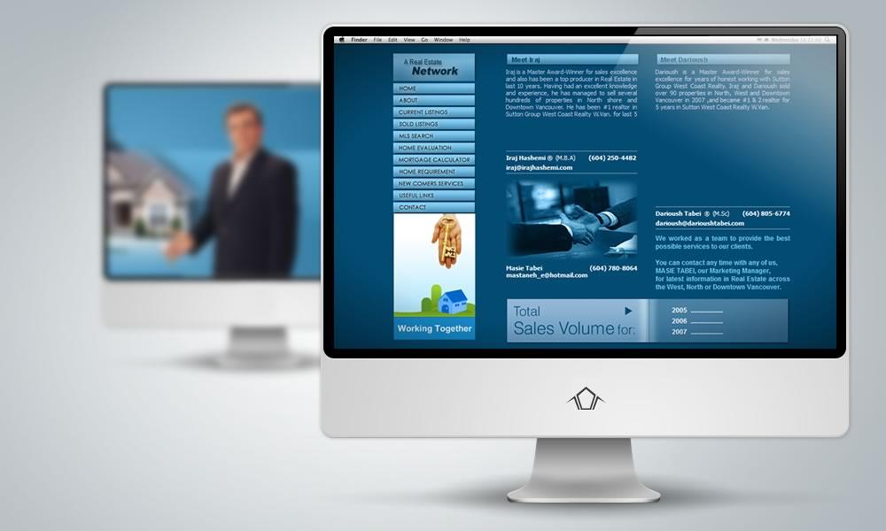 Web Design - Darioush Tabei