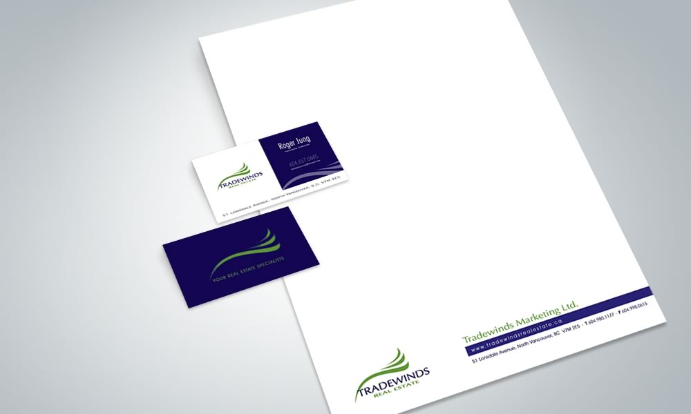 Branding and Graphic Design - Tradewinds Real Estate